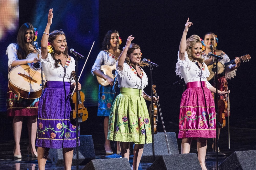 Las Colibri perform during the 57th Annual L.A. County Holiday Celebration at Dorothy Chandler Pavilion on December 24, 2016 in Los Angeles, California.